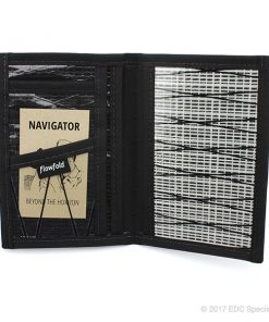Flowfold Navigator Passport Holder White