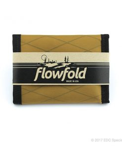Flowfold Traveler Limited Trifold Wallet Coyote Brown