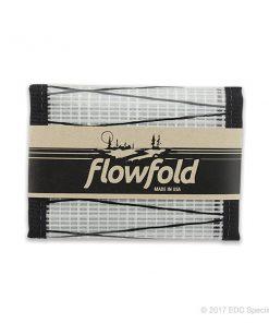 Flowfold Traveler Trifold Wallet White