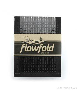 Flowfold Vanguard Billfold Wallet Black