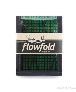Flowfold Vanguard Billfold Wallet Green
