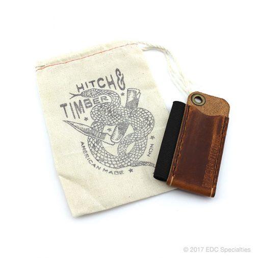 Hitch & Timber The Pocket Runt English Tan - Leather EDC Pocket Slip