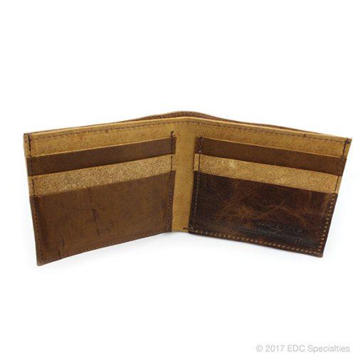 Kingport Industries Reclaimed American Leather Bifold Wallet