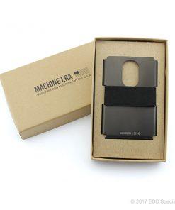 Machine Era Ti5 Slim Wallet Black DLC