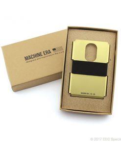 Machine Era Ti5 Slim Wallet Gold PVD
