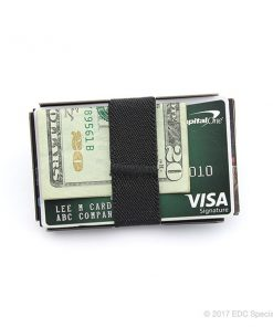 Machine Era Ti5 Slim Wallet Silver