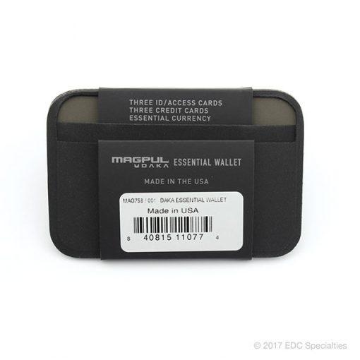 Magpul Industries DAKA Essential Wallet Black