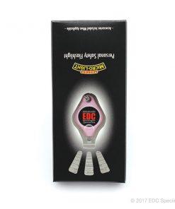 Photon Freedom Micro LED Keychain Flashlight Pink (EDC Specialties Logo)