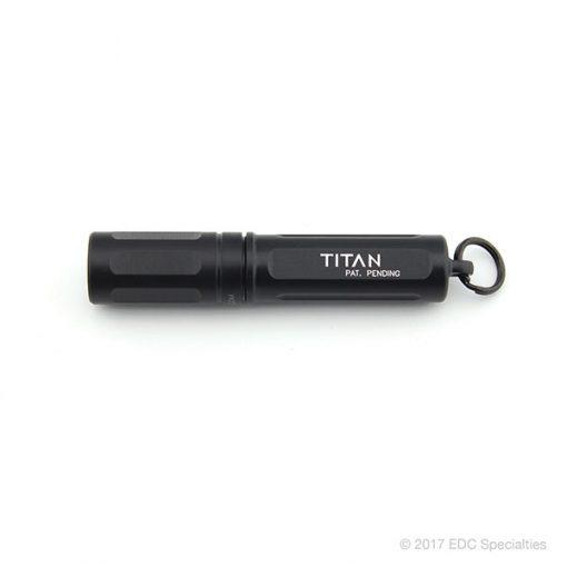 Surefire Titan Ultra-Compact Dual-Output LED Keychain Light Black