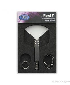 TEC Accessories Pixel Ti Keychain Microlight Stonewash