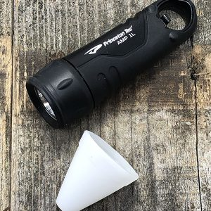 Princeton Tec AMP 1L 100 Lumen 100M Waterproof Flashlight AAA