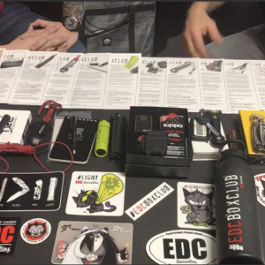 2020 EDC Box Club Year 1 (Monthly Subscription) Initial Payment & Sign Up