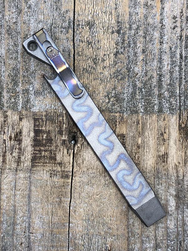 Titanium EDC Custom Pry Bar Tool