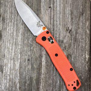 Benchmade 533 Mini Bugout S30V Satin Blade Orange Handle