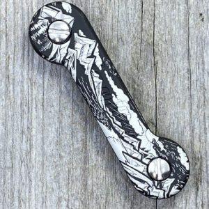 *KeyBar Anodized Black Sierra Aluminum