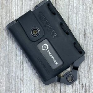 Trayvax Element Wallet Black