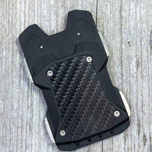Vice Hardware F1 Black Aluminum and Titanium Wallet with Carbon Fiber Magnetic Money Clip
