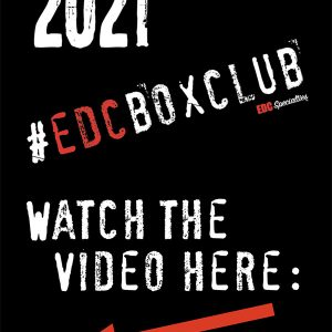 2021 EDC Box Club Level 1 (Monthly Subscription) Initial Payment & Sign Up (Click Play on the Image to Watch Video)
