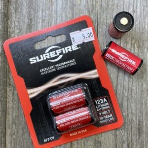 Surefire Lithium Battery CR123 2-Pack