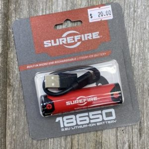 Surefire Lithium Ion Rechargeable Battery SF-18650B