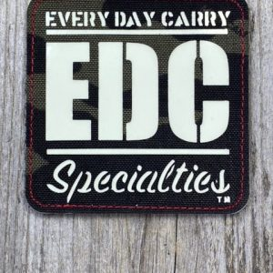 EDC Specialties Limited Run Glow-in-the-Dark Morale Patch