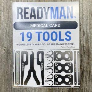 Readyman Medical Card 19 Tools