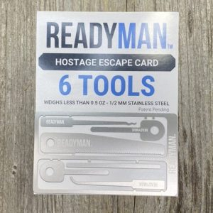 Readyman Hostage Escape Card 6 Tools