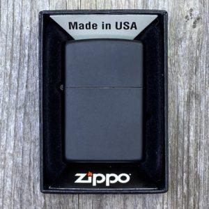 Zippo Lighter Plain Black