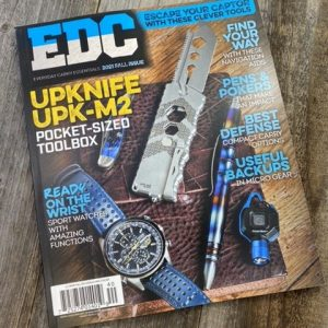 Every Day Carry Magazine Fall 2021 Issue 114 Pages Full Color