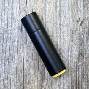 Black Label Creations Aluminum Burt's Bees Lip Balm Sleeve w Black Cerakote (Includes Balm)